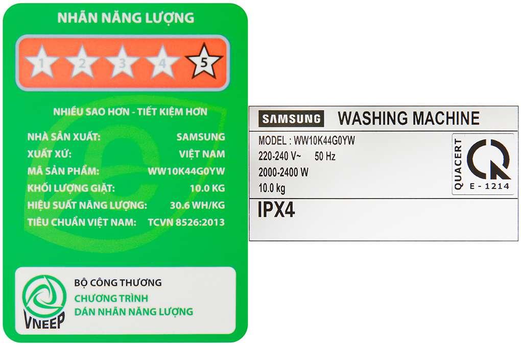 Samsung Ww10k44g0yw Sv 10 Org