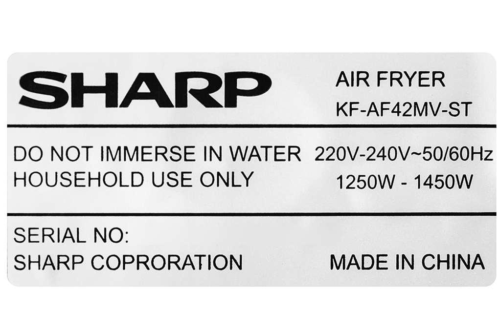 Sharp Kf Af42mv St 42 Lit 12 Org