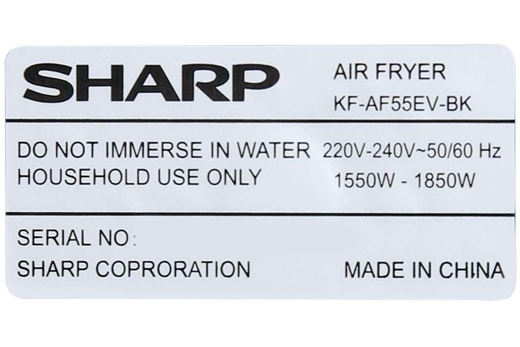 Sharp Kf Af55ev Bk 55 Lit 11 Org