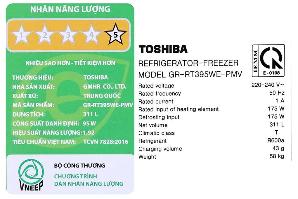 Toshiba Gr Rt395we Pmv 06 Mg 14 Org